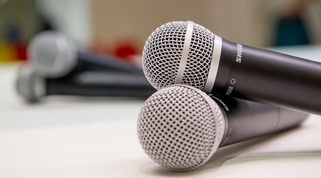 Sound and microphones